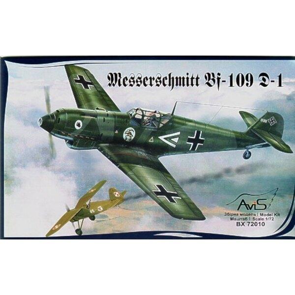 Messerschmitt Bf 109D-1 WWII German fighter