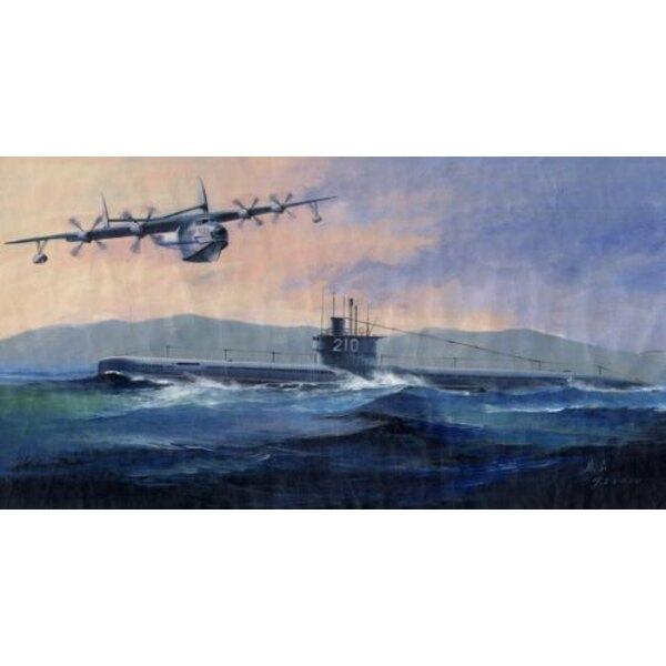 PLAN Type 033 Submarine & SH-5