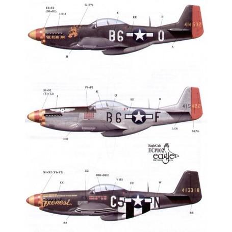 Eagle cal 1/48 north american p-51d mustang 357th fg pt 2