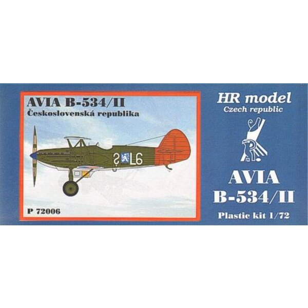 Avia B-534/II. Decals CSR includes photo-etched parts
