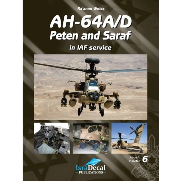 Libro Boeing Apache AH-64A/D Apache Peten and Saraf Israeli Defence Force/IAF