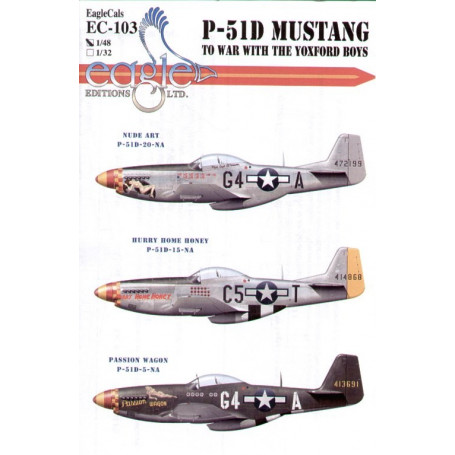 North American P-51D Mustang 357th FG Pt 1, Eagle Editions
