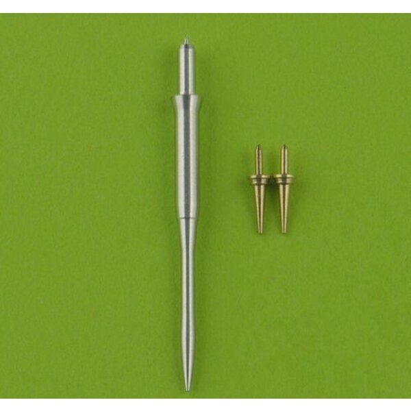 F-16 Pitot Tube & Angle Of Attack probes (designed to be used with model kits from Academy, Hasegawa and Tamiya).