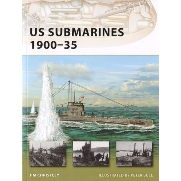 US Submarines 1900-35 by Jim Christley
