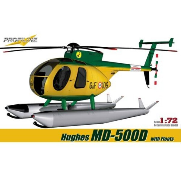 Hughes MD-500D with floats