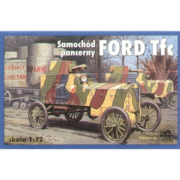 Ford model T armoured car
