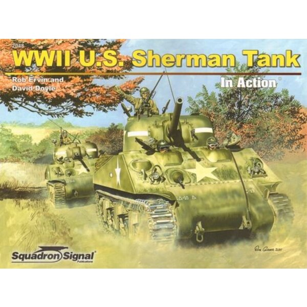 WWII U.S Sherman Tank (In Action Series) by Rob Ervin and David Doyle