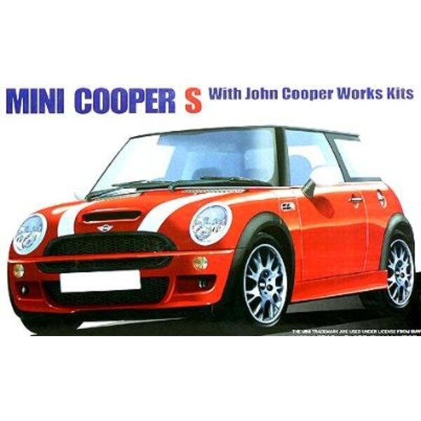 New Mini Cooper Jcw 1:24