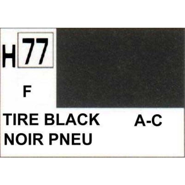 H077 Nero fuoco opaco