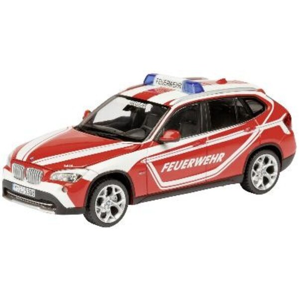 BMW X1 E84 Firefighters 1:43