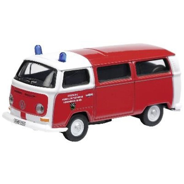 VW T2A Bus Firefighters Kirsc 1:87