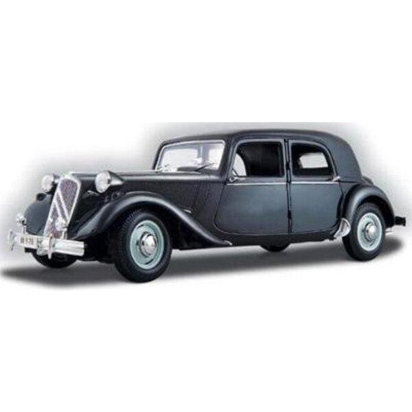 15 Cv 6 Cyl Citroën Black 1:18