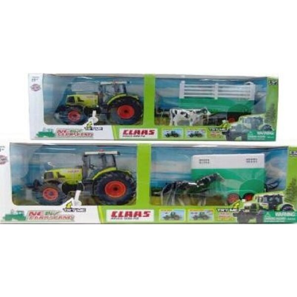 Tractor Claas Metal T+ Trailer light and sound effects 1:32