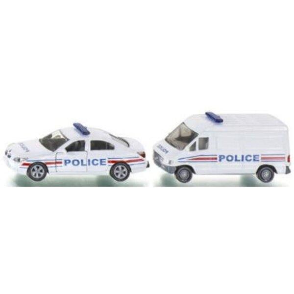 Set Police France 1/64
