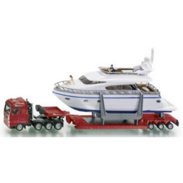Low loader with Yacht 1:87