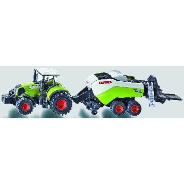 Claas Axion + Big Baler 1:87
