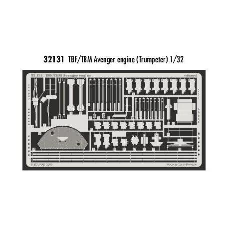 Grumman TBF-1/Grumman TBM-3 Avenger engine (per i kit modello da Trumpeter)