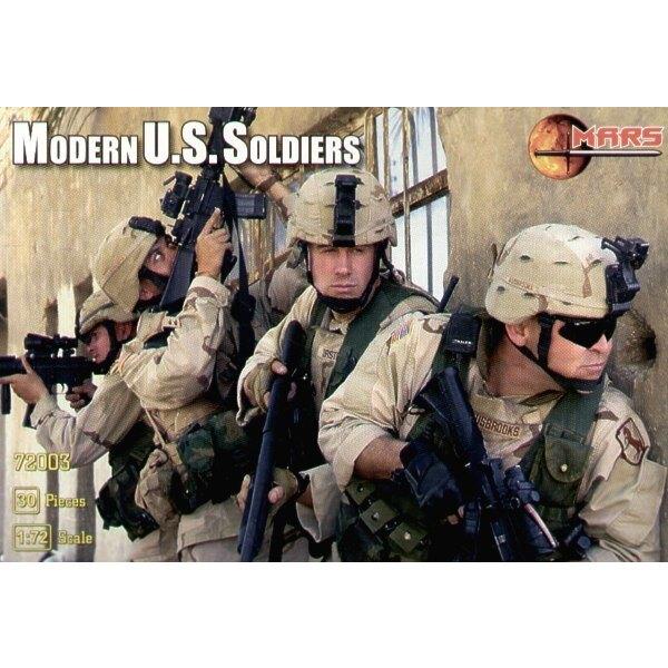 US soldiers, modern