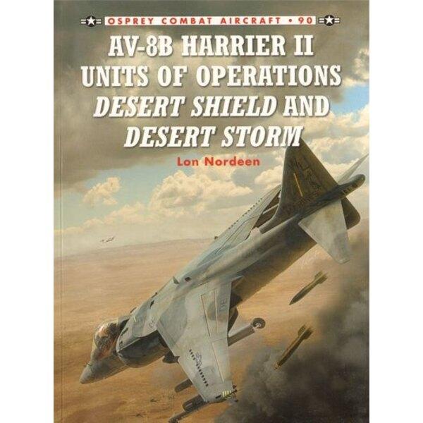 Libro McDonnell-Douglas AV-8B Harrier II Units of Operations Desert Shield and Desert Storm