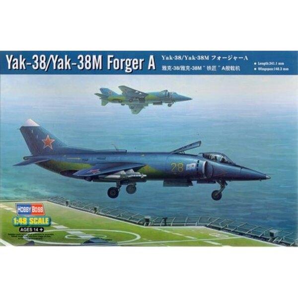 Yakovlev Yak-38/Yakovlev Yak-38M Forger A