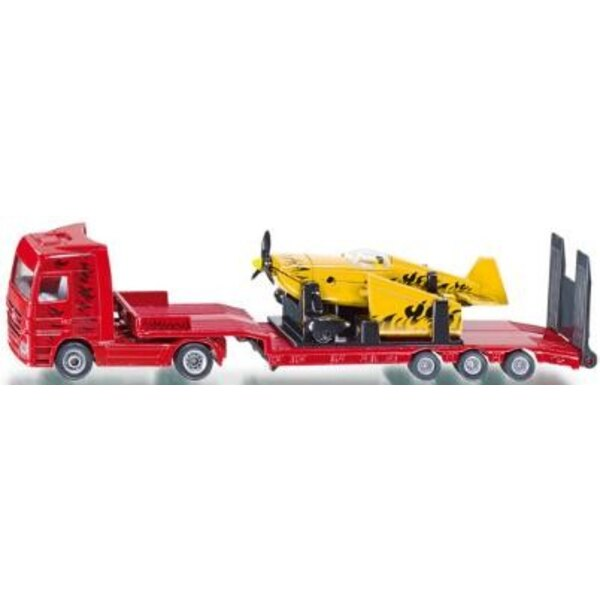 Truck with Sports Plane 1:87