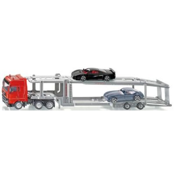 Truck with Car Load 1:50