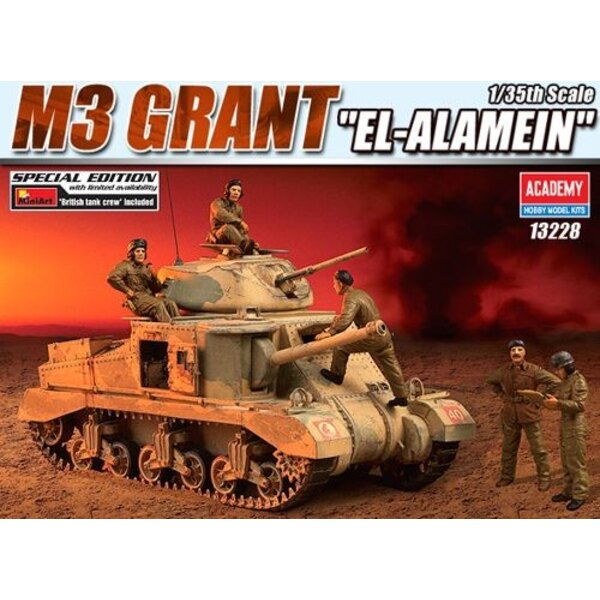 M3 Grant with Mini-Art British Tank Crew (Limited Edition)