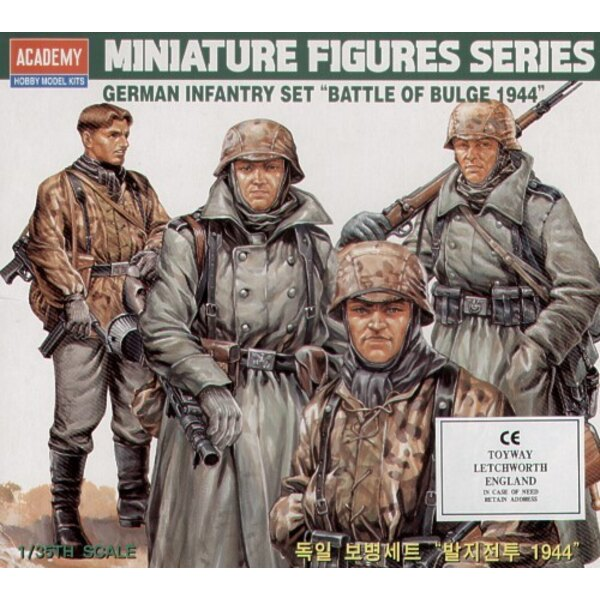WWII German Infantry Figures