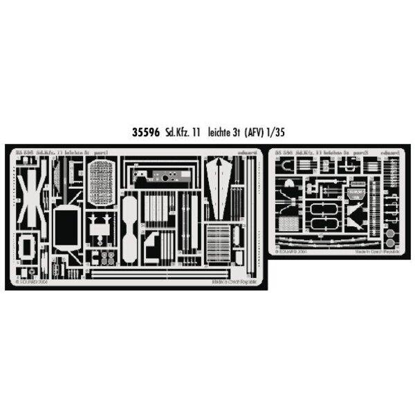 Sd.Kfz.11 leichte 3t (per i kit modello da AFV Club)