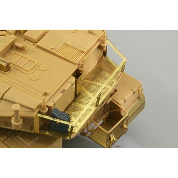 Merkava Mk.IV stowage basket (per i kit modello da Academy)