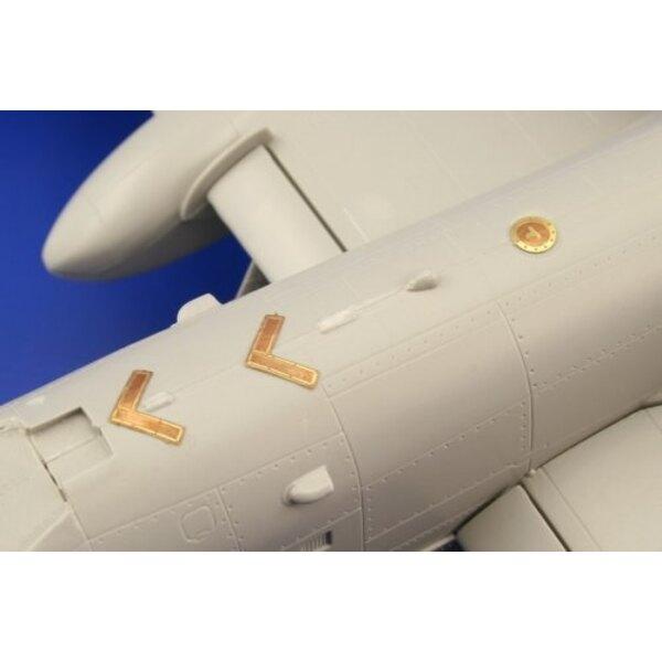 Fairchild A-10 Thunderbolt II exterior (per i kit modello da Italeri)