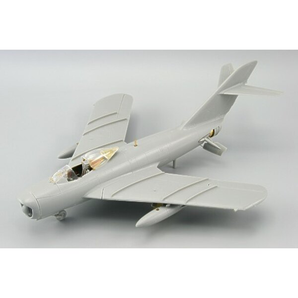 Mikoyan MiG-17PF (self adhesive) PRE-PAINTED IN COLOUR! (designed to be used to be used with Hobby Boss)