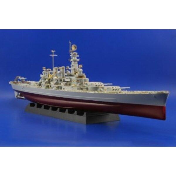 USS BB-55 North Carolina (per i kit modello da Trumpeter)