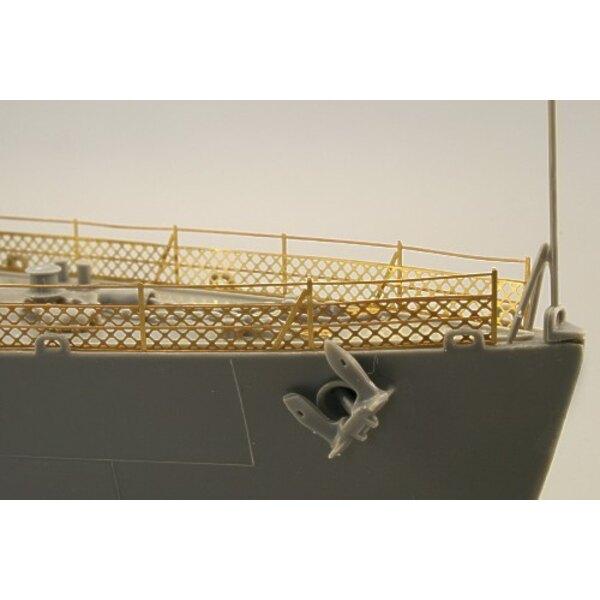 Fletcher 1942 railings (per i kit modello da Revell)