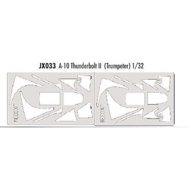 Fairchild A-10 Thunderbolt (per i kit modello da Trumpeter) (fatto da nastro Kabuki giallo prodotta in Giappone)