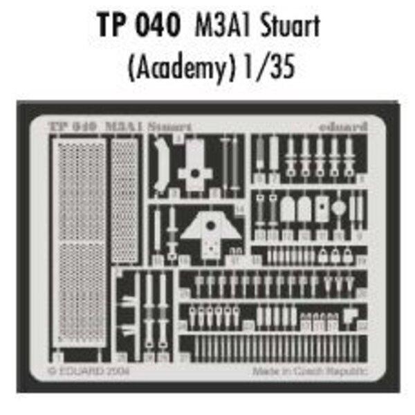 M3A1 Stuart (per i kit modello da Academy)