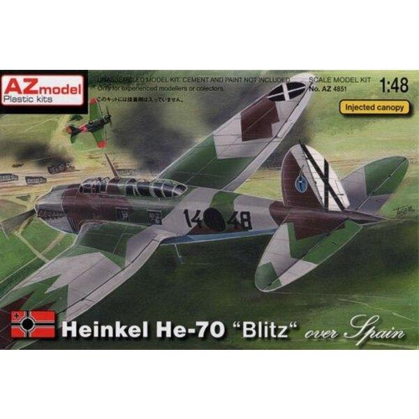 Heinkel He 70 ′Over Spain′