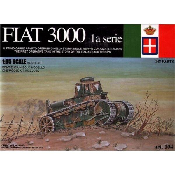 Fiat 3000 1st Italian Tank 1921