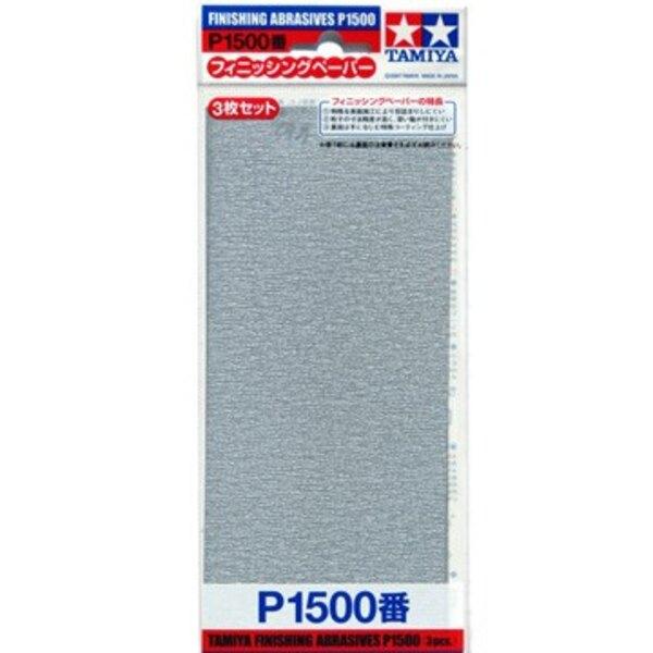 Carta abrasiva P1500