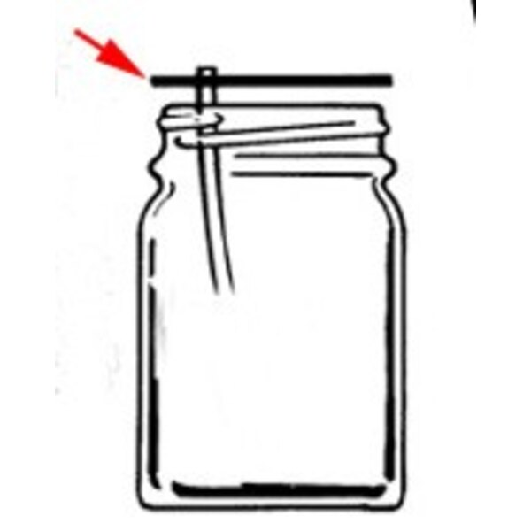 3 Jar Cover Gasket for 100 200 250 and 350 Series
