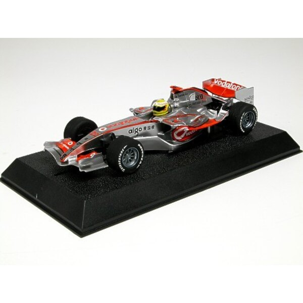 Vodafone McLaren Mercedes Lewis Hamilton 2008 F1 World Champion (gift or starter set with paints paint brush and glue)