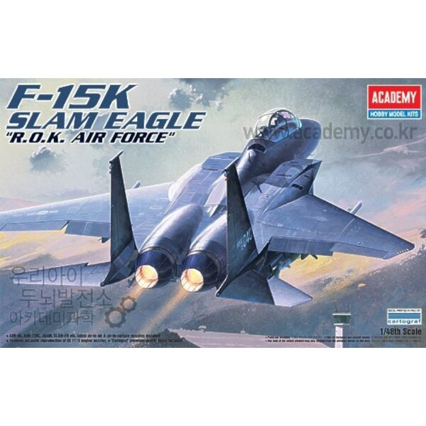 McDonnell Douglas F-15K Slam Eagle Korean Air Force