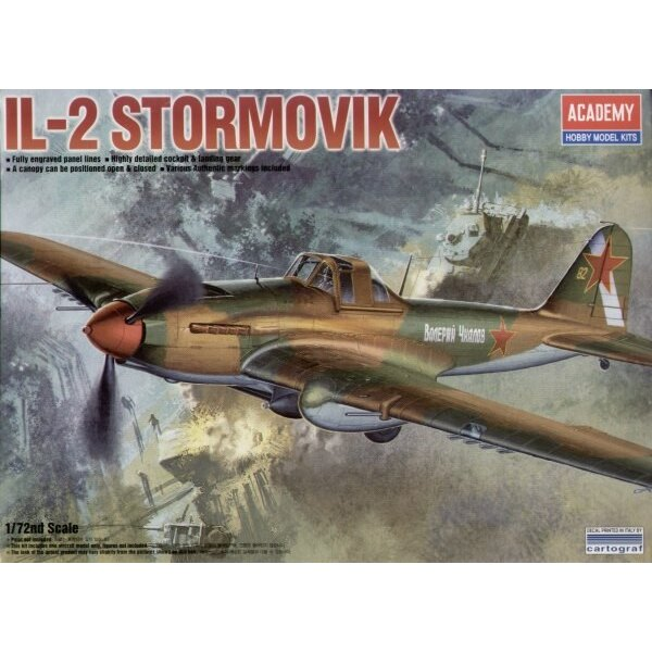 Ilyushin Il-2 Stormovik (This is the never released Accurate Miniatures tooling)