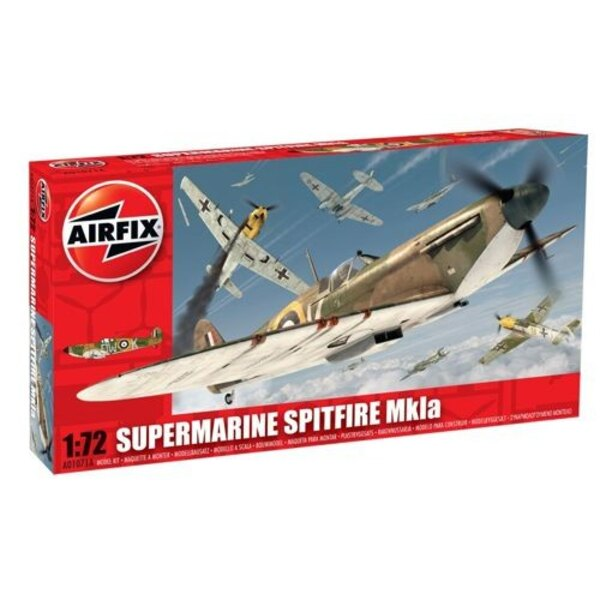 Supermarine Spitfire Mk.I. This is a brand new tool.