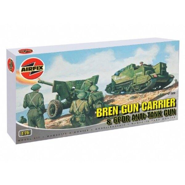 Bren Gun Carrier & 6 Pdr Anti Gun Tank
