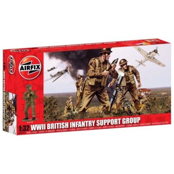 Gruppo di sostegno British Infantry WW2
