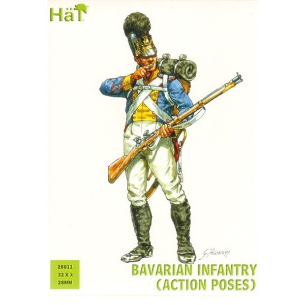 Bavarian Infantry (Action poses)