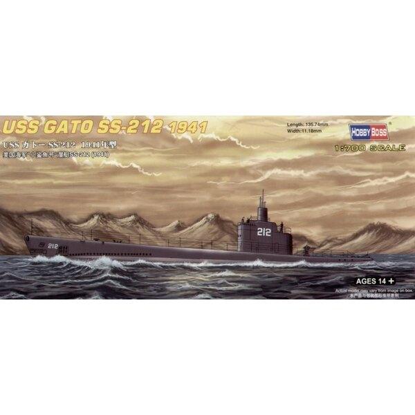 USS SS-212 Gato 1941 Submarine (submarines)