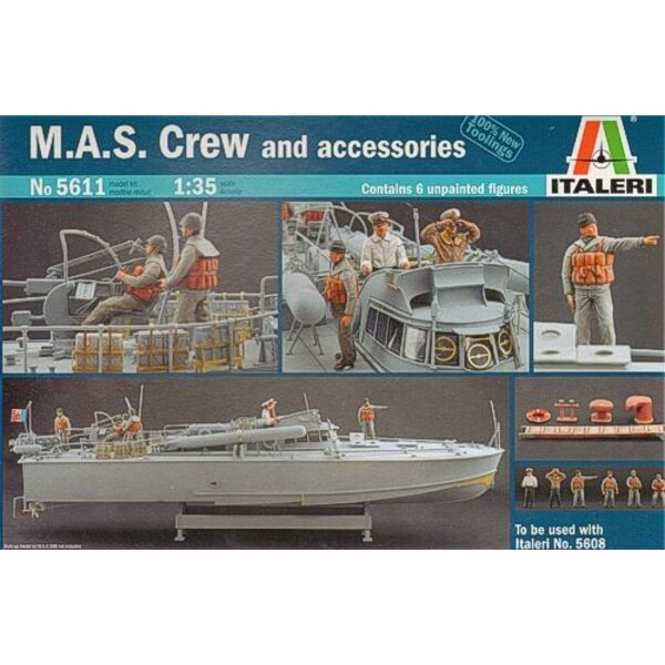 M.A.S Crew and Accessories (designed to be assembled with model Kits from IT5608)