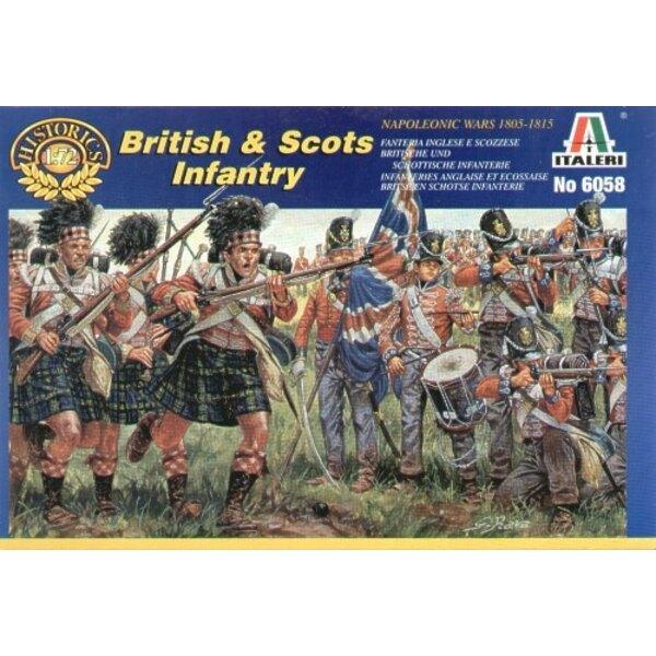 Guerre Napoleoniche: Fanteria scozzese e britannica